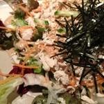 いっかくじゅう - いっかくじゅう 烏丸店の飲み放題宴会料理3980円のサラダアップ(12.12)