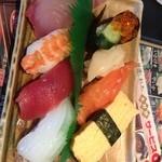 廻鮮寿し たいの鯛 - 昼のランチ 梅握り¥690-  お得感満載!!