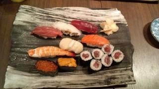 寿司の磯松 - 磯松握り(2,100円)