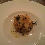 17074462 - ふぐの白子と冬野菜のパン粉焼き