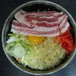 高砂舎 - 料理写真:豚のお好み焼き