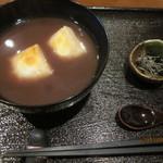 17077369 - おしるこ(焼き餅)!(2013,1/27)