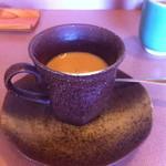 ふく万 - 食後のコーヒー