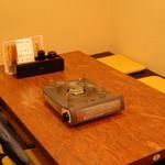 もつ鍋 山本屋 - テーブル席1