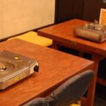 もつ鍋 山本屋 - テーブル席3