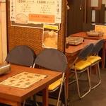 もつ鍋 山本屋 - テーブル席4