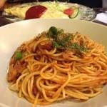門 - スパゲティナポリタン