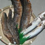 ひさ家 - 当店の出汁は、産地直送、国産のこだわり、季節により吟味したウルメ・サバ・メジカ節を二~三ヶ月かけ熟成させたものを使用。