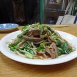 麺恋亭 - レバニラ炒め