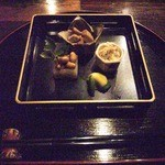 Tsunuga - お通し(季節の4種盛り)