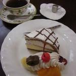 明日香 - 料理写真:ケーキ&ドリンクセット
