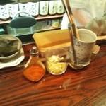 陶カフェ - テーブルセット