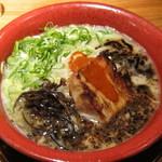 麺龍 炎の杜 - 料理写真:黒龍・・・コクと深みのとんこつラーメン