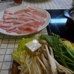 岩津屋 - 豚多め定食 1000円