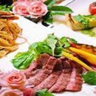 ☆1日2組限定☆A5ランクの神戸牛を使用したステーキコース!