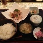 古月 - 鶏から御膳(700円)