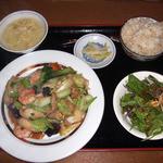 家寶 - 八宝菜定食(2009年6月)