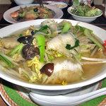 家寶 - 野菜麺(大盛り)(2009年6月)