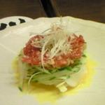 坐・和民 - 桜肉のタルタル