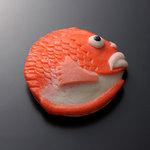 梅かま - 料理写真:飾り・細工かまぼこ 小巻 鯛