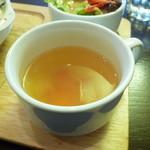 パフェ&レストラン ノエルの樹 - ランチのスープ♪