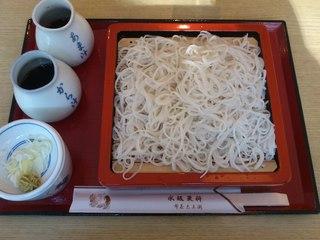 永坂更科 布屋太兵衛 麻布総本店 - 御前蕎麦(大盛り)