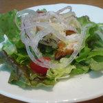 ブールブリッコ - ランチのサラダ
