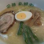 元祖札幌や - 料理写真:みそらーめん 飽きのこない味、また漫画読みつつ食べたい。 H24.10