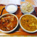インド料理ヒマラヤ - TWOカリーセット