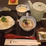 大宮 伊勢錦 - 鯛茶漬け