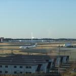バルーン - 離着陸の飛行機が見えます
