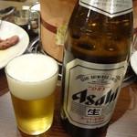 味楽 - 瓶ビール:550円