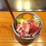 海老名ぱすたかん - 豚焼き 食材