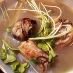 ささの葉 - 牡蠣の味噌汁