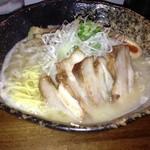 我羅奢 - 鶏白湯ラーメン(塩)