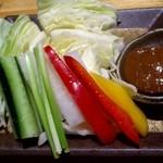 17109452 - シャキシャキ生野菜盛り
