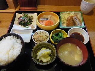 懐 - 日替わり定食。これで780円!