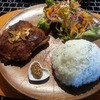 Cafe BlueM - 料理写真:週替わりランチ~チキンの香草ステーキ