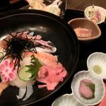 17112696 - 海鮮丼御膳