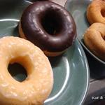 ドーナツデプト - 料理写真:おゆずはん、ベルギチョコ、アールグレー、シナモン