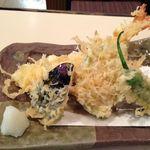 目黒更科 - 天せいろの天ぷら