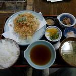 かもめ丸 - 桜エビかき揚定食
