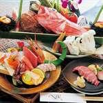寿司割烹 八風 - 本日水揚げされた新鮮魚介が豊富に堪能できます