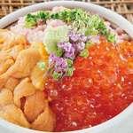 寿司割烹 八風 - 三色丼2,500円