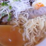 中華清林 - チャーシューメン 麺&汁アップ