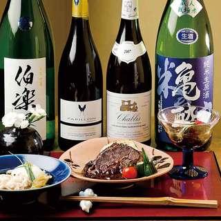 和食にはやっぱり日本酒でしょ!!