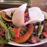 17119265 - チキンと焼き野菜のサラダご飯