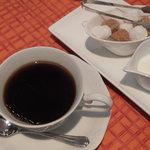 フランス菓子 スリジェ - セットのコーヒー