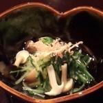日本料理雲海 - 【天麩羅御膳】小鉢。