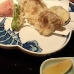 日本料理雲海 - 【天麩羅御膳】天麩羅盛り合わせ。